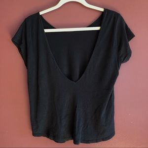 Urban Outfitters Open Back Tee- Basics